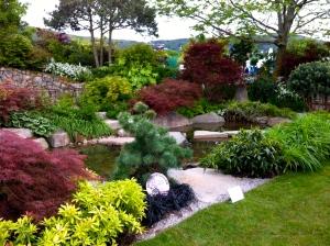 Malvern Spring Show garden