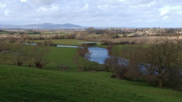 River Avon & the Malvern Hills